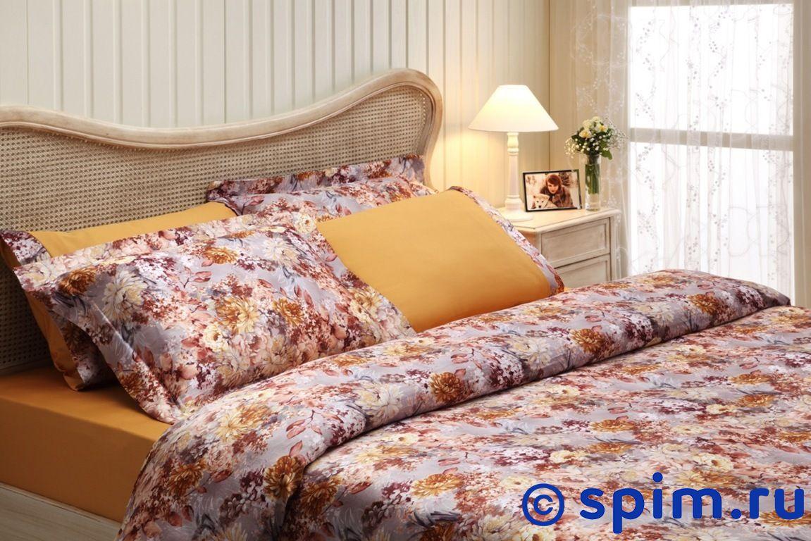 Шелковое постельное белье Tivolyo Florido euro-standart