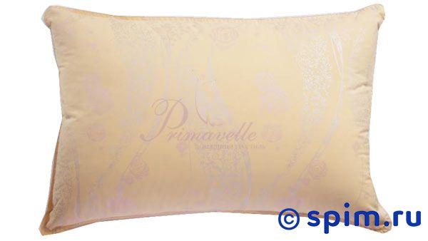 Подушка Florina 50*70Подушки Primavelle<br>Материал: 100% хлопок, наполнитель - белый сибирский гусиный пух первой категории (75% пух, 25% перо). Пух прошел гипоаллергенную и антиклещевую обработки. Размер: 50х70.<br>