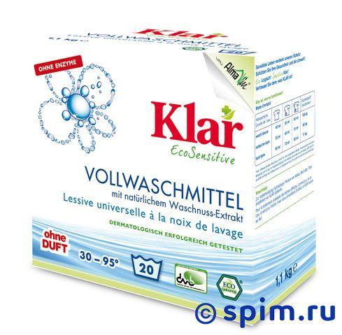 Порошок стиральный Klar на мыльном орехе (1100 г)