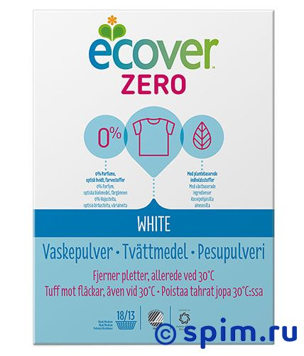 ������� ���������� Ecover Zero White ������� ���������� Zero White