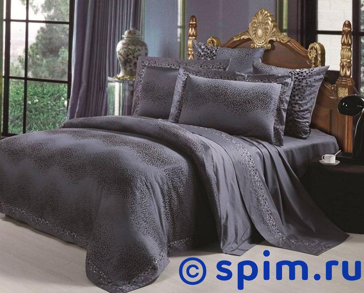 Комплект Asabella 593 Евро-стандартЖаккардовое постельное белье Asabella<br>Состав: верх пододеяльника и наволочек - жаккардовый люкс-сатин (55% вискоза, 45% хлопок). Оборотная сторона пододеяльника, наволочек и простыня – люкс-сатин (100% хлопок). Размер : Евро-стандарт<br><br>Размер: Евро-стандарт