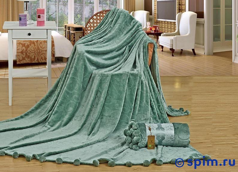 Плед Kazanov.a. Виньетка, зеленый 160х220 см