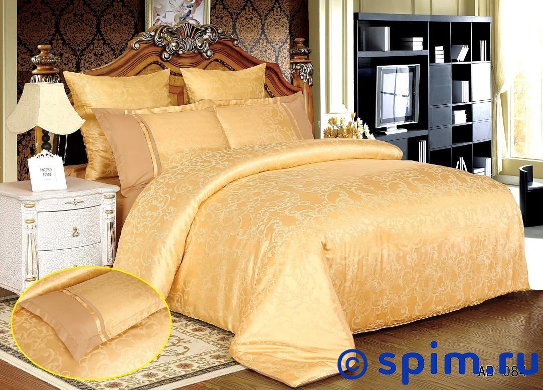 Комплект KingSilk-Arlet Ab-084 2 спальноеПостельное белье Kingsilk-Arlet<br>Материал: верх - 50% хлопок, 50% вискоза, низ - 100% хлопок (сатин-люкс). Размер КингСилк-Арлет: 2 спальное<br><br>Размер: 2 спальное