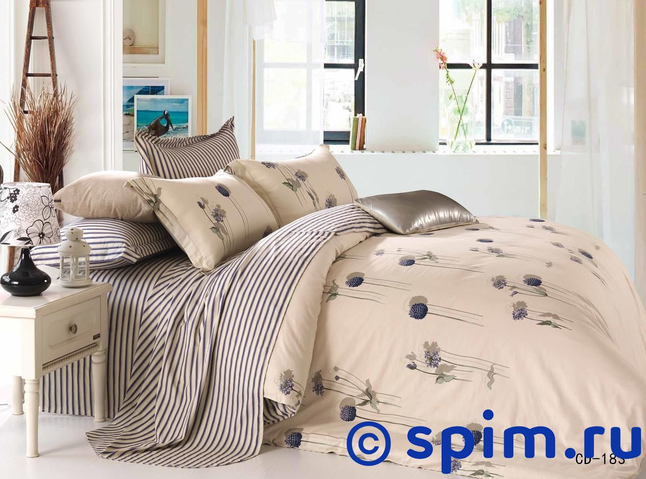 Комплект KingSilk-Arlet Cd-183 1.5 спальноеПостельное белье Kingsilk-Arlet<br>Материал: 100% хлопок. Плотность, г/м2: 120-125. Размер КнигСилк-Арлет: 1.5 спальное<br><br>Размер: 1.5 спальное