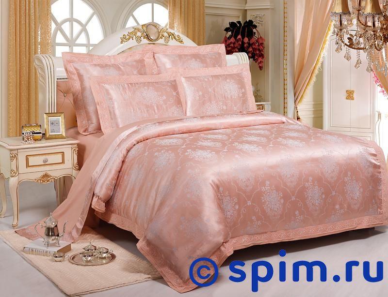 Комплект Kingsilk Sb-104 Евро-стандартЖаккардовое постельное белье KingSilk<br>Материал: жаккардовый шелк (70% хлопок, 30% вискоза). Плотность, г/м2: 130-135. Размер КингСилк: Евро-стандарт<br><br>Размер: Евро-стандарт