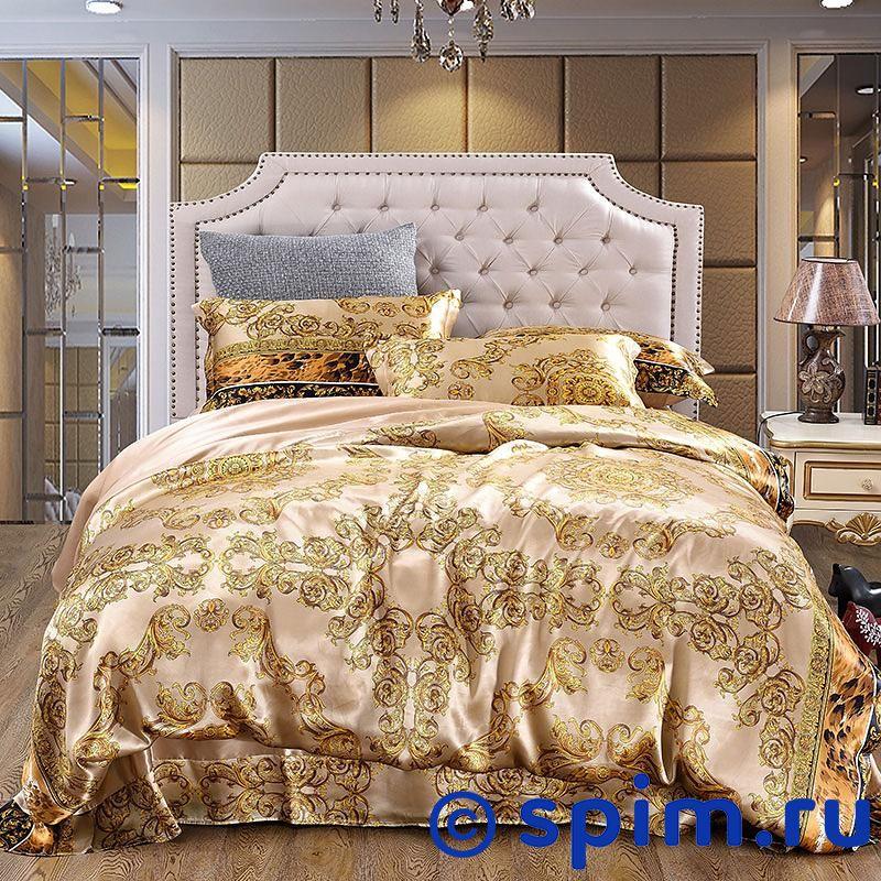 Комплект Luxe Dream Висконти Евро-стандартШелковое постельное белье Luxe Dream<br>Состав: 100% натуральный шелк сорта Mulberry. Плотность: 16 мамми. Размер Люкс Дрим Visconti: Евро-стандарт<br><br>Размер: Евро-стандарт