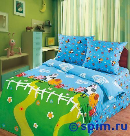 Детское постельное белье Веселая фермаДетское постельное белье Непоседа<br>Материал: 100% хлопок, бязь.<br>