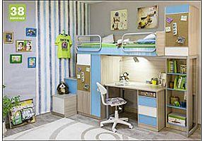Детская мебель 38 попугаев Твист