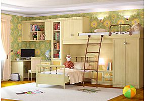 Детская мебель Итальянские мотивы
