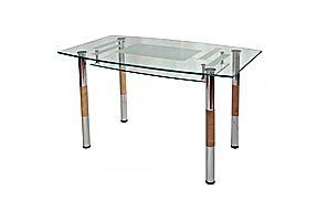 Обеденные столы из стекла Мебелик