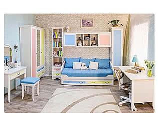 Детская мебель 38 попугаев Классика Карамель