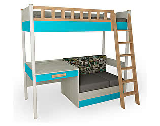 Кровать 38 попугаев Феникс (топаз)