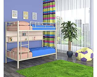 Двухъярусная кровать 4 сезона Ницца (полка - дуб молочный)