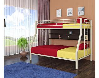 Купить кровать 4 Сезона Милан (полка венге) двухъярусная