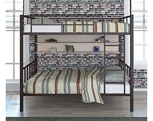 Двухъярусная кровать 4 сезона Валенсия 120 (полка)