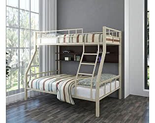 Купить кровать 4 Сезона Раута (полка венге) двухъярусная