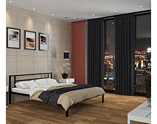 Кровать 4 сезона Титан двуспальная металлическая