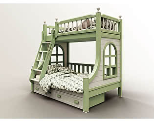 Двухъярусная кровать 4 сезона Гранд