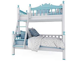 Двухъярусная кровать 4 сезона Люкс