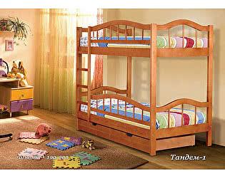 Двухярусная кровать  Альянс XXI век Тандем 1