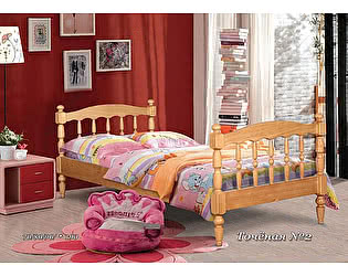 Кровать одноярусная Альянс XXI  Точеная 2