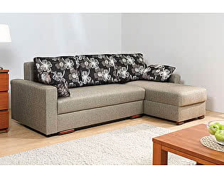 Угловой диван Боровичи Лира с прямыми боковинами 1600