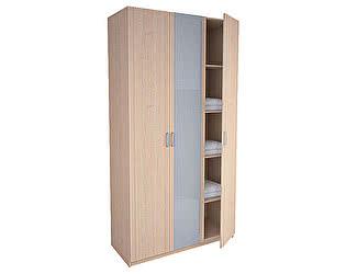 Шкаф 3-х дверный с зеркалом серии Лотос АРТ-8.03