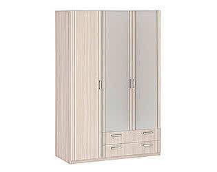 Шкаф 3-х дверный с ящиками 1510 с зеркалами Боровичи Лотос АРТ-8.032