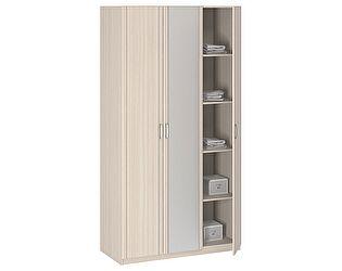 Шкаф 3-х дверный с зеркалом Боровичи Лотос АРТ-8.03