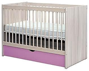 Кровать детская Боровичи 60х120 с ящиком