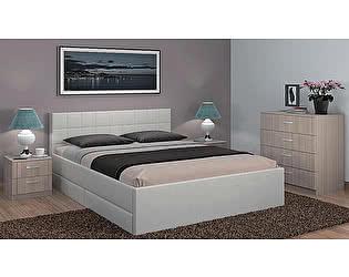 Кровать Боровичи Люкс с ящиками