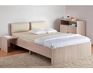 Кровать Боровичи Мелисса с мягкой спинкой