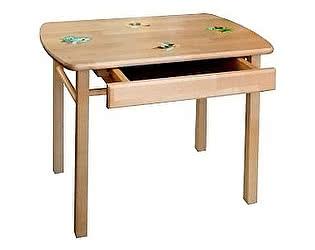 Стол детский Боровичи прямоугольный с ящиком