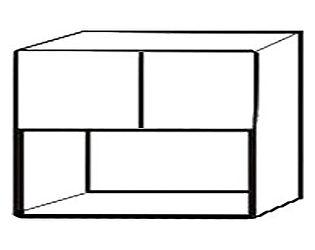 Шкаф с нишей, арт.: СВ-106Н