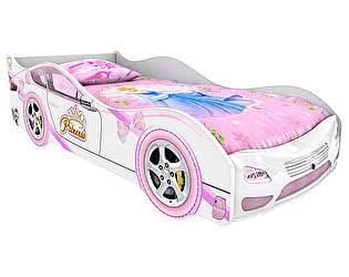 Кровать-машинка Домико Принцесса