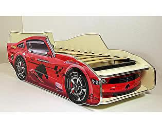 Купить кровать ВиВера -машинка Молния Мустанг 150