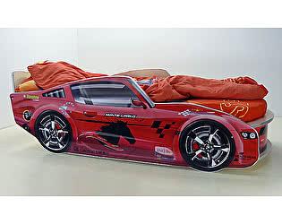 Купить кровать ВиВера -машинка Молния Премиум с матрасом