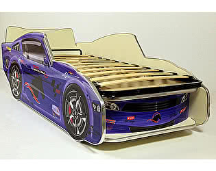 Купить кровать ВиВера -машинка Молния Мустанг 170