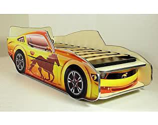 Кровать-машинка Мустанг 150