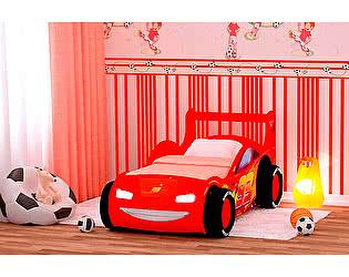 Кровать-машинка Red River Молния 3Д пластик (70)