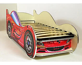 Купить кровать ВиВера -машинка Спорт кар-2