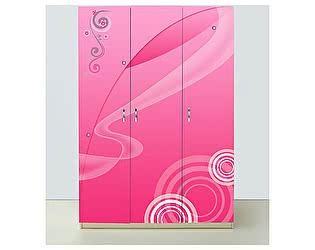 Шкаф 3х дверный Принцесса