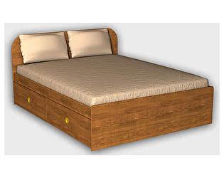 Кровать 900 с 2 ящиками ГРОС, СМ-2