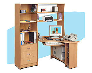 Компьютерный стол ГРОС СК-4 (правый)