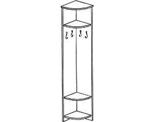 Вешалка угловая ГРОС серии Алена ПМ 18 (рамка)