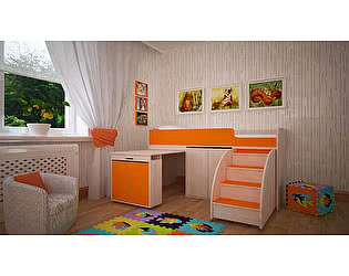 Кровать-чердак Малыш Эконом