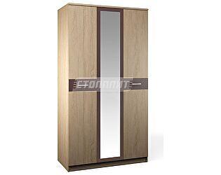Шкаф 3-х дверный с зеркалом Столплит Клео, Арт. СБ-2007+FZ+2F