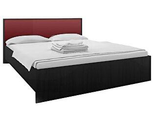 Кровать 160 Столплит Марсель дуб феррара (бордо), Арт. СБ-1077 + F-1077