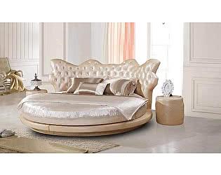 Кровать круглая Татами арт.1130 со стразами