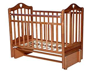 Кровать детская Татами Каролина-5  (бук, орех)